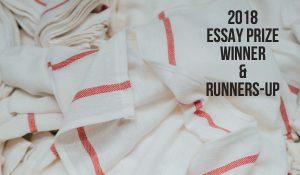 2018 Essay Prize Winner & Runners-up